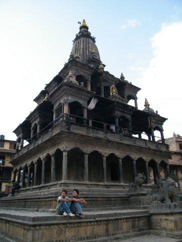 The Krishna Mandir Temple, Durbar Square, Patan.