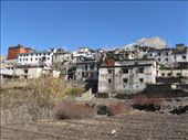 As we get closer and closer to our final destination of Muktinath, the villages are more distinctly Tibetan in style. This is Jharkot. By the way,