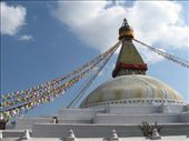 The famous -- and HUGE -- stupa at Bodhnath, just outside of Kathmandu.: by ivan_miral, Views[178]