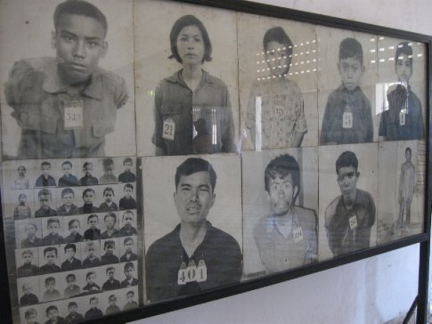 Men, women, and children... each person with her own story, her own life.  We looked at them in these, their mug shots.  And for some, we looked at them in photos that recorded their torture, their killing.