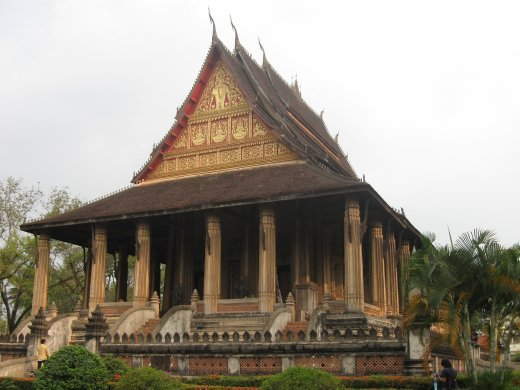 The Haw Pha Kaeo religious museum in Vientiane.