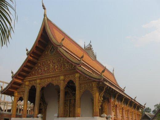 Wat Nong Sikhunmeuang in Luang Prabang.