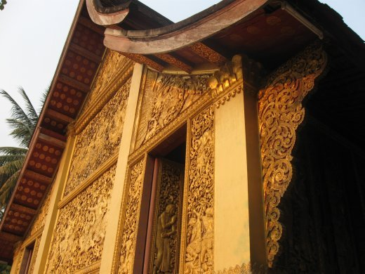 In addition to their architectural beauty, the detail of Luang Prabang's wats keep you staring and staring.
