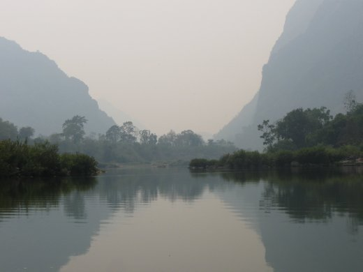 Our days of wandering in the hills around Nong Khiaw were punctuated with views like this of the magical Nam Ou River.