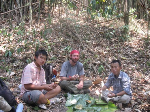 One advantage of guided trekking -- delicious picnic lunches!