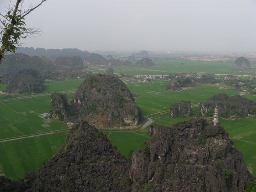 ...and the whole area around Ninh Binh.