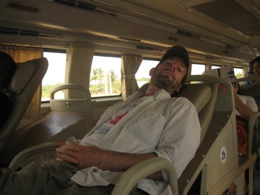 In total contrast, we did NOT like the 24 hour sleeper bus (dentist chair!) out of there!