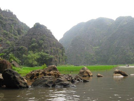 The crown jewel of Ninh Binh is Tam Coc.