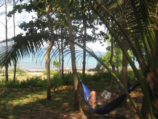 While Mi took advantage of the tanning potential of Phu Quoc's beaches, Ive preferred the shady hammock naps.