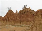 Mud formations near Nieva: by ivanci, Views[249]