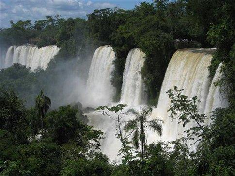 Back to Argentinian side of Iguazu falls