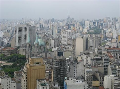 San Paulo is apparently third largest city in the world ...  and it is big with its 17 mil population
