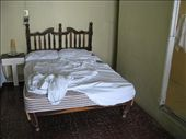 No, this is not an optical illusion. Legs survived and bed was still standing next morning: by ivanci, Views[232]