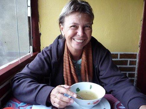 Last soup in Sapa...