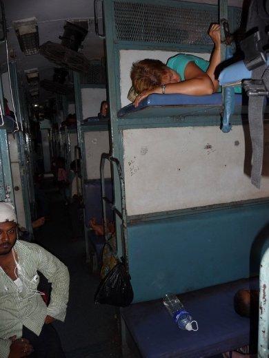 On train to Goa