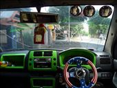 In minibus to Bira from where we catch 50 hours ferry to Lombok Island: by ivanci, Views[224]