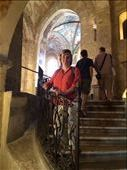 Anna in St. George's Basilica, Prague castle. : by j-a-z, Views[46]