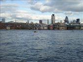 View of Thames and Millennium Bridge.: by jac995, Views[84]