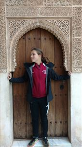 Striking a pose in the Alhambra: by jakemoffat, Views[78]