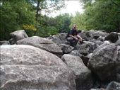 Ringing Rocks, Bucks County, Pennsylvania. OK so when someone says grab a hammer we are off to a national park to hit rocks because they ring like a bell, just go you'll enjoy it. : by jambopablo, Views[130]