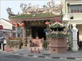 One of many chinese Temples in Kuching, Sarawak, Malaysia. Throughout Malaysia there is a large mix of Muslim Mosques & Chinese Temples.: by jambopablo, Views[204]