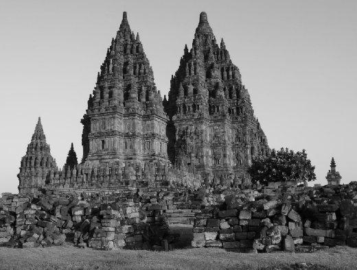 Prambanan temple, Prambanan, Central Java, Indonesia.