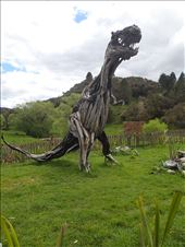 Raurimu Driftwood Sculpture. Me Mum always wants me to pickup some driftwood on my travels, couldn't fit this fulla into the back of the van.: by jambopablo, Views[278]