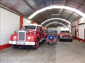 Barranca's firestation operated by a truck from 1957: by james-karolien, Views[217]