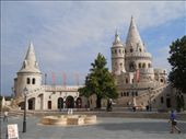 Fisherman's Bastion near Buda Castle: by james_tesol_teacher, Views[162]