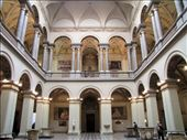 Museum of Fine Arts Interior at Heroes' Square - Author KovacsDaniel: by james_tesol_teacher, Views[122]