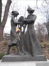 Interesting sculpture near the History Museum.: by james_tesol_teacher, Views[244]
