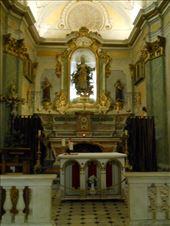 Church interior, Eze Le Village: by james_tesol_teacher, Views[70]