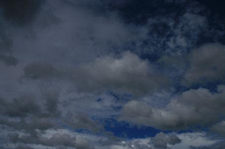 The Sky in Lk Toba