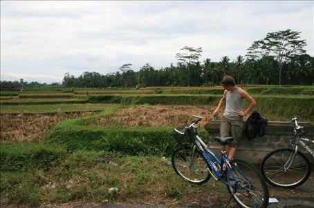Our bike ride around Ubud