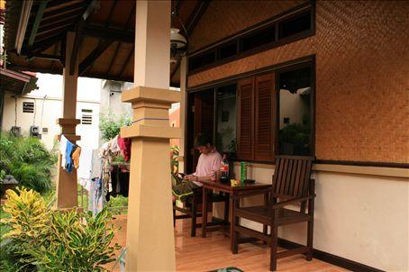 Our homestay in Kuta Bali