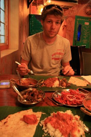 Check out the Banana leaf for plates
