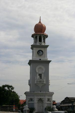 Clock Tower in Penang