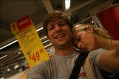 Us in Ikea Hong Kong (Don't know why - seemed like a good idea at the time !): by jamesanddan, Views[217]