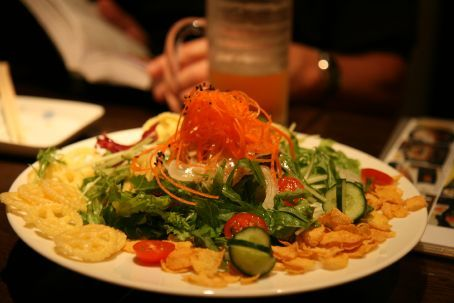 Cornflake salad !