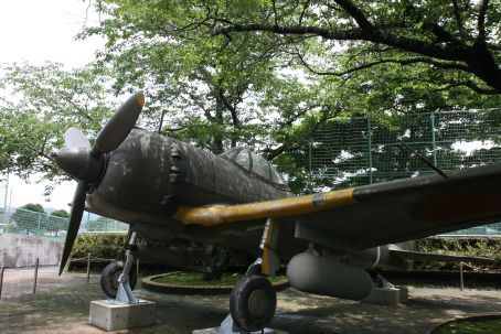 Kamikaze Pilot Plane in Chiran (where they trained them)