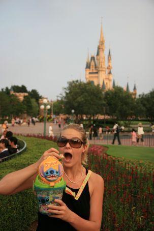 Lilo and Stitch popcorn bucket...