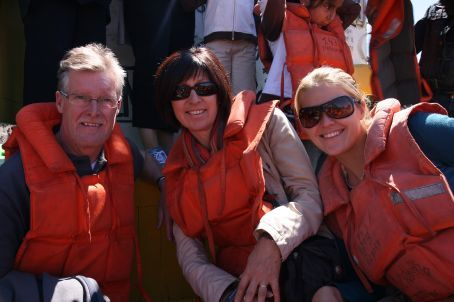 On a tour of the harbour!