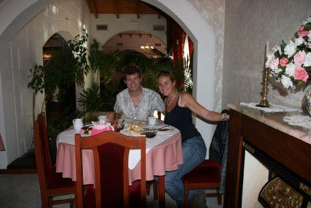 Us before food
