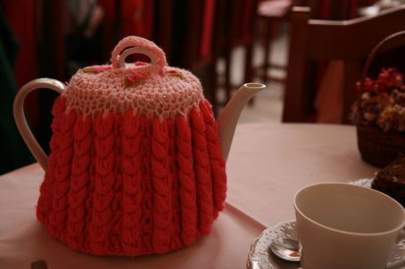 Our teapot...