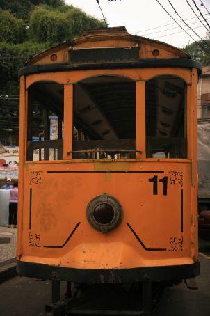 Tram in Santa Teresa