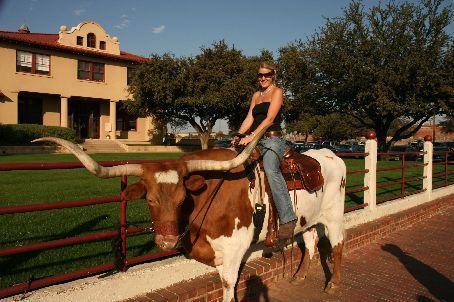 Dan in the saddle..