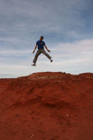 haha! red rocks!