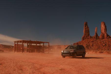 CRV in the desert