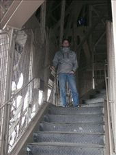 The steps down the Effiel tower: by jamesandjulie, Views[192]