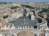 The view down upon St Peter's Square: by jamesandjulie, Views[160]